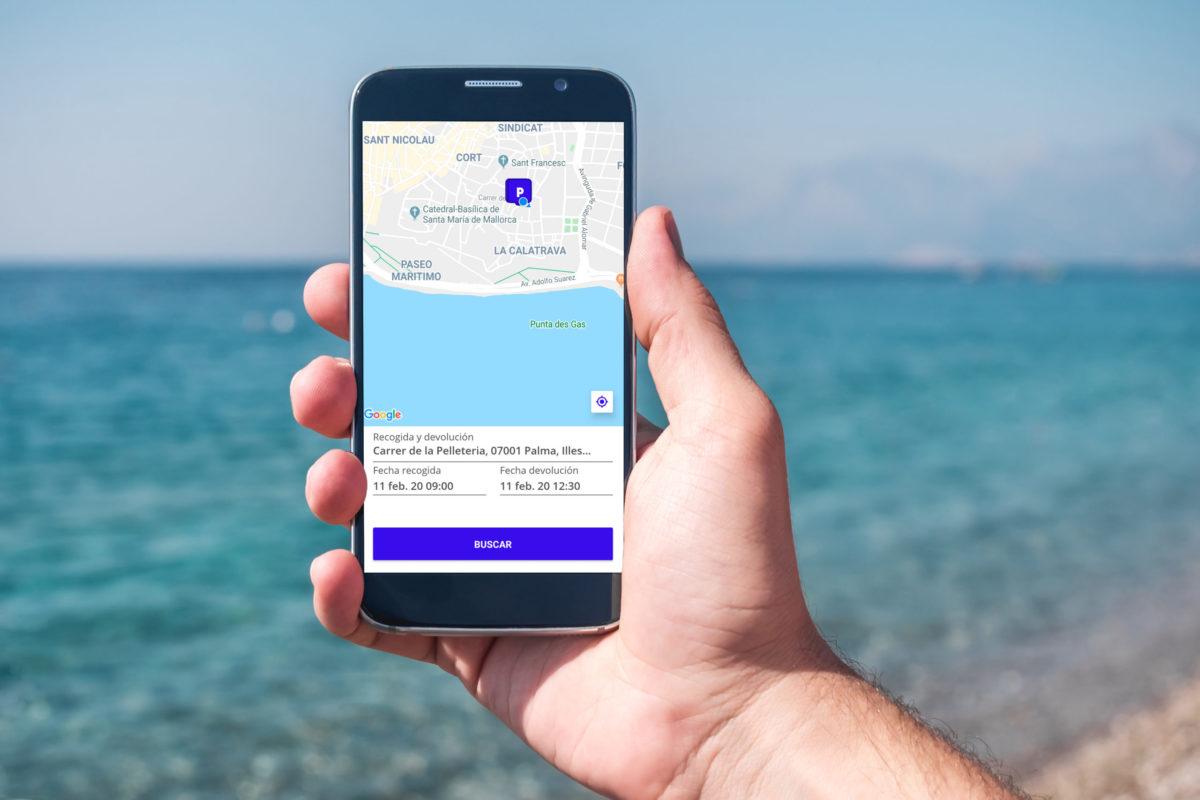 Instrucciones de reserva con la app de Muvon