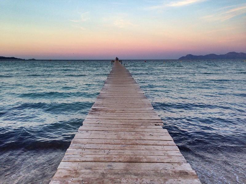 Embarcadero Playa de Muro