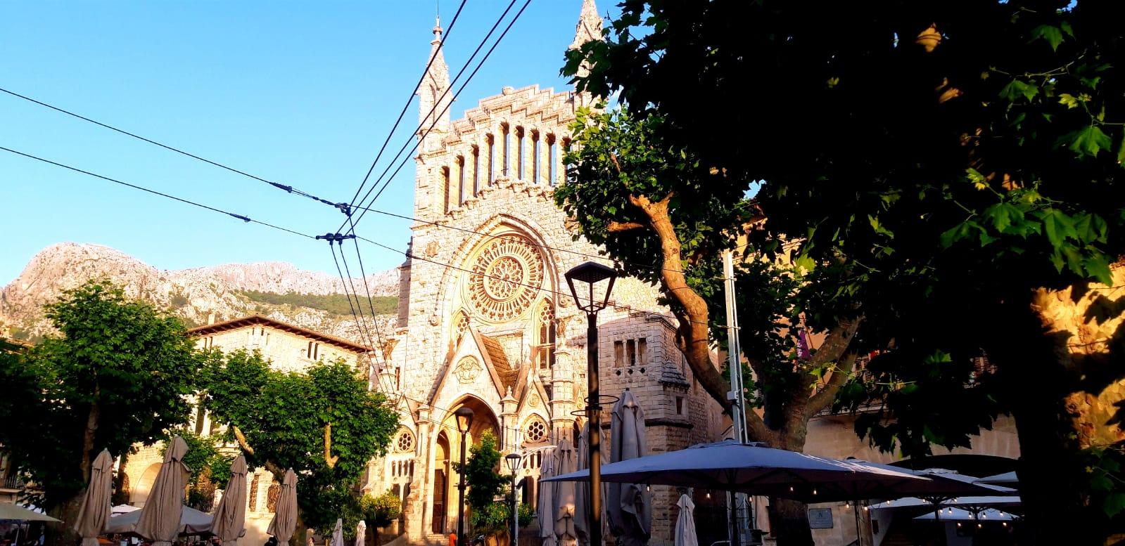 Iglesia San Bartolomé en Sóller