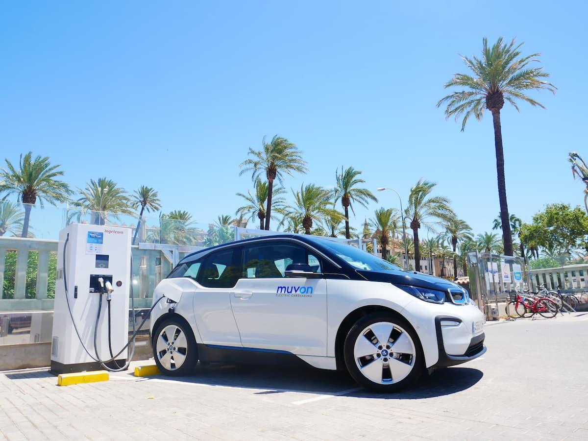Puntos de recarga coche eléctrico en Mallorca